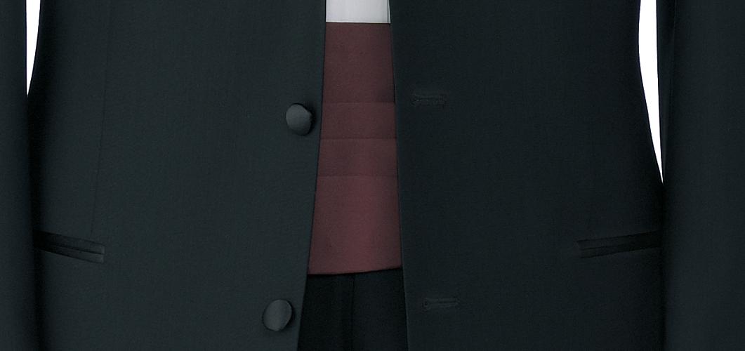 schwarzer Kummerbund