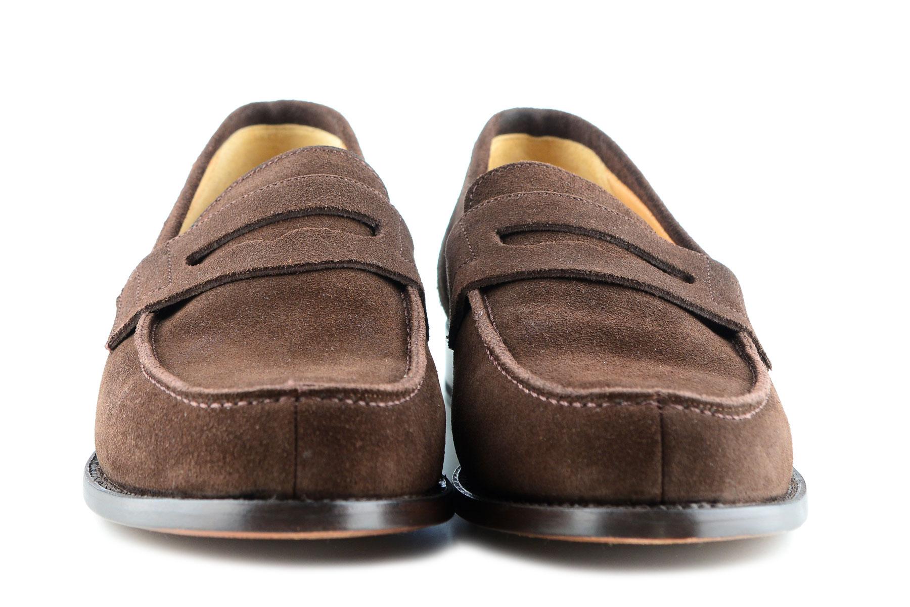 Alistair Grey Penny Loafer | Schlupfhalbschuh für Herren