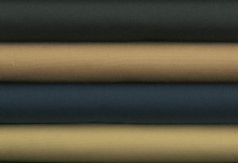 Tuche aus Baumwoll