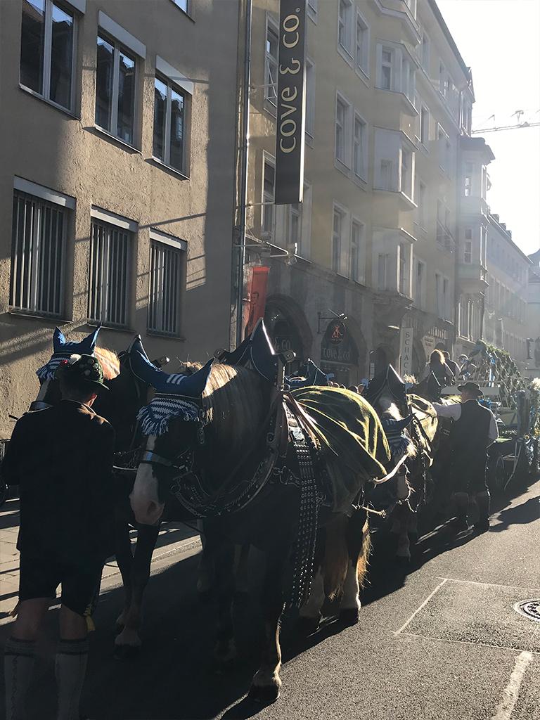 Oktoberfest 2019 Pferdewagen
