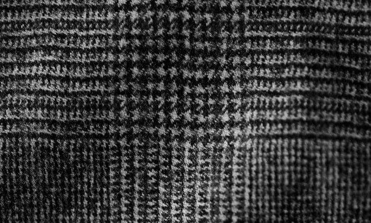 anzug sakko schwarz-weiß